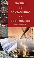 manual de contabilidad en odontologia mario utrilla trinidad 9788496486966