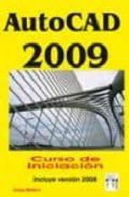 autocad 2009 curso iniciacion-josep molero-9788496897366