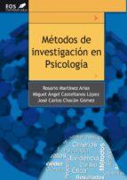 metodos de investigacion en psicologia 9788497274166