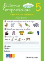 lecturas comprensivas 5 (3ª ed.): leo frases jose martinez romero 9788499151366