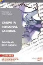 PERSONAL LABORAL DEL CABILDO DE GRAN CANARIA: GRUPO IV: TEMARIO Y TEST COMUN