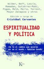 espiritualidad y politica cristobal cervantes 9788499880266