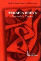terapia breve: teoria de la tecnica-regina szprachman de hubscher-9789508921666