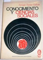 El libro de Conocimiento y ciencias sociales autor ENRIQUE TIERNO GALVÁN DOC!