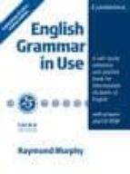english grammar in use with answers and cd rom (3rd ed.) (ed. con memorativa 25 años. ed. limitada) raymond murphy 9780521186476