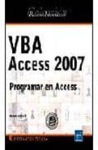 vba access 2007: programar en access-michele amelot-9782746041776