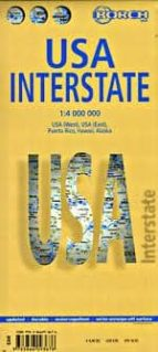 ee.uu. (usa interstate), mapa de carreteras (1:4000000) 9783866093676