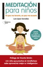 meditación para niños luis lopez gonzalez 9788416429776
