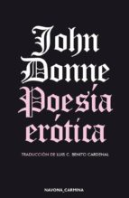 poesía erótica-john donne-9788417181376
