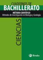 cuaderno ciencias bachillerato método científico. métodos de investigación en biología  y geología-9788421660676