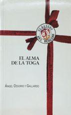 el alma de la toga angel ossorio 9788429014976