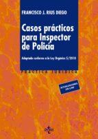 casos practicos para inspector de policia-francisco j. rius diego-9788430959976