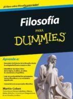 filosofia para dummies-martin cohen-9788432900976
