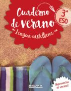 lengua castellana 3º eso cuaderno de verano 9788448942076