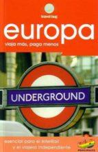 europa: viaja mas, paga menos (travel bug) 9788460940876