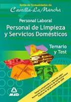 personal de limpieza y servicios domesticos castilla la mancha. t emario y test-9788466565776