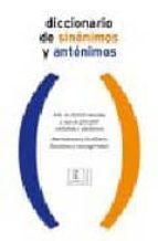 diccionario de sinonimos y antonimos-9788467019476
