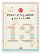 cuaderno de problemas 13 (5º educacion primaria) 9788467505276