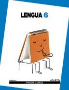 El libro de Lengua 6º educacion primaria autor VV.AA. PDF!