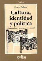 cultura, identidad y politica: el nacionalismo y los nuevos cambi os sociales ernest gellner 9788474323276