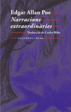 narracions extraordinaries edgar allan poe 9788477273776
