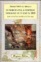 de barcelona a filipinas: impresiones de un viaje en 1898 manuel villalba y burgos 9788478133376
