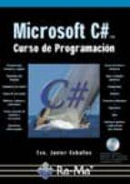 microsoft c# curso de programacion-francisco javier ceballos-9788478977376