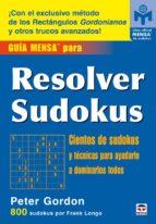 guia mensa para resolver sudokus-peter gordon-9788479026776