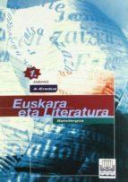 euskara eta literatura 1 batxilergoa (dbh) a eredua-9788483251676