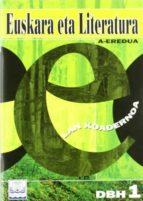 euskara eta literatura lan koadernoa dbh 1 (a eredua)-9788483253076
