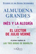 inés y la alegría + el lector de julio verne (pack) (ebook)-almudena grandes-9788483838976