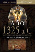 año 1325 a.c. el año que murió tutankhamón-ana maria vazquez hoys-9788484837176