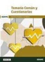 temario comun y cuestionarios: servicio andaluz de salud 9788491472476