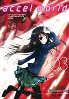 accel world (manga) nº 03/08 reki kawahara 9788491735076