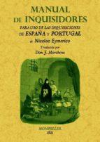 manual de inquisidores (ed. facsimil) nicolau eymeric 9788497617376