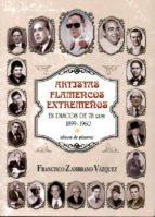 artistas flamencos extremeños en discos de 78 rpm-f. zambrano-9788498524376