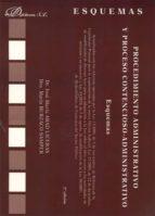 procedimiento administrativo y proceso contencioso-administrativo . esquemas (2ª ed)-jose maria abad liceras-maria burzaco samper-9788499820576