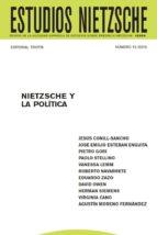 estudios nietzsche vol. xv. nietzsche y la política (ebook)-cdlen15786676