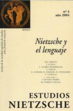 estudios nietzsche vol iv. nietzsche y el lenguaje (ebook)-cdlen45786676