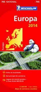 europa mapa nacional 2014 (ref. 11705) 9782067190986