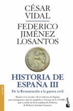 historia de españa iii cesar vidal federico jimenez losantos 9788408045786