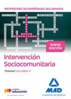 profesores de enseñanza secundaria intervención sociocomunitaria temario volumen 4-9788414208786
