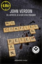 no confies en peter pan-john verdon-9788416240586