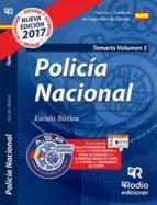 POLICIA NACIONAL: TEMARIO (VOL. 3) 2017