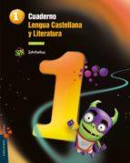 cuaderno cuadrícula   lengua 1 1 superpixépolis lengua 1º cuadrícula  trimestres + cuento  superpixépolis 9788426392886