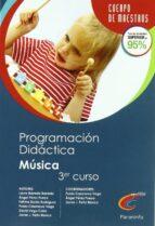 CUERPO DE MAESTROS PROGRAMACION DIDACTICA EDUCACION MUSICAL 2º CI CLO 3ª CURSO