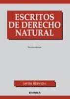 escritos de derecho natural (3ª edic)-javier hervada-9788431328986