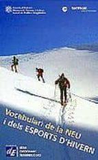 vocabulari de la neu i dels esports d hivern-9788441201286