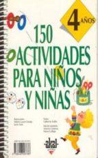 150 actividades para niños y niñas. 4 años 9788446003786