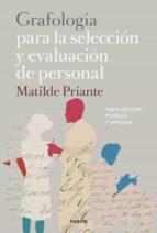 grafología para la selección y evaluación de personal (ebook)-matilde priante-9788449333286